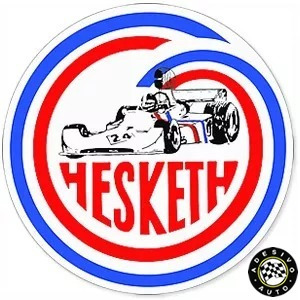 Adesivo James Hunt Hesketh 308 Racing F1 Formula 1