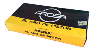 Aros De Piston Cromados Ford Falcon;f100 Motor 188 Y 221