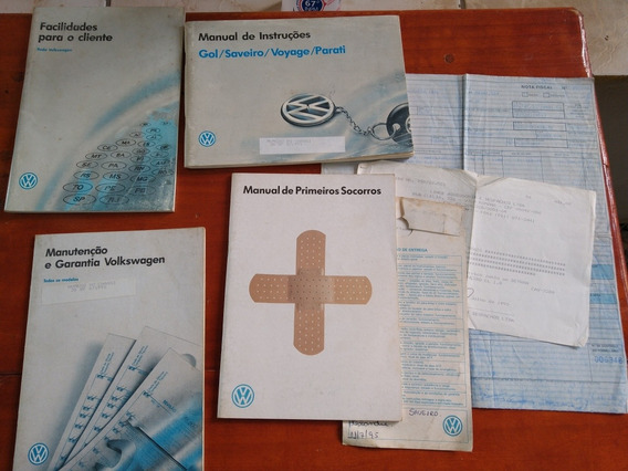 Manual Saveiro Cl 1995 Gol, Voyage, Parati Quadrados