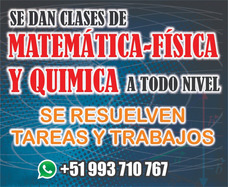 Clases Particulares De Matemática, Fis, Qui. Bilingüe.