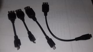 Cable Adaptador Otg - Usb Hembra A Mini Usb