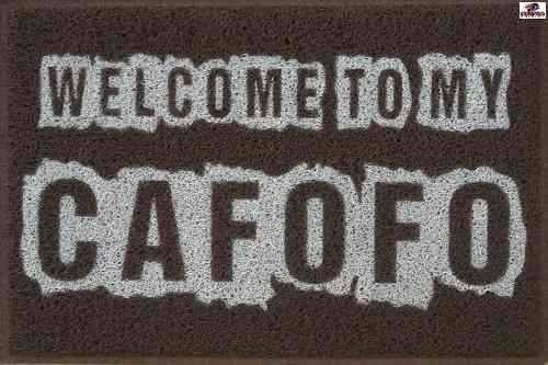 Tapete Capacho - Welcome To My Cafofo - 70 X 40 Frete Grátis