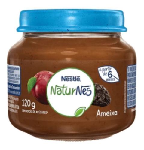 Imagem 1 de 2 de Papinhas Nestlé De Ameixa Sobremesa Infantil A Partir 6º Mês