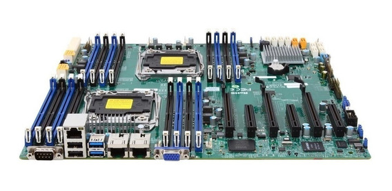 Kit Server Placa Mãe Supermicro X10drl-i + 2620v4 + 64gb Ram