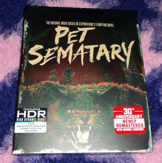 Pet Sematary - Cementerio Maldito - Bluray Ultra Hd 4k 1989