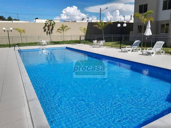 Apartamento Com 2 Dormitórios Para Alugar, 60 M² Por R$ 800,00/mês - Tarumã - Manaus/am - Ap2962