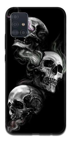 Imagen 1 de 10 de Funda Samsung A31 A21s A11 Calavera Skull 3