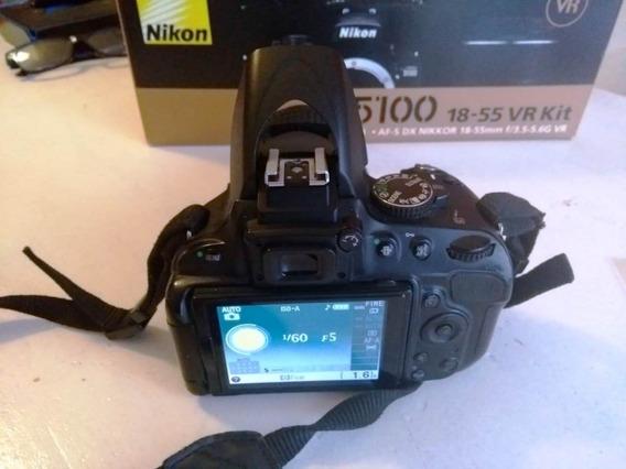 Nikon D5100 Excelente Estado Completa Mar Del Plata