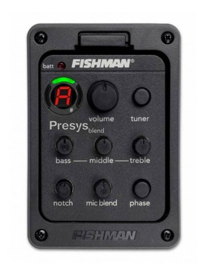 Pré Equalizador Da Fishman Presys Blend C/microfone Original