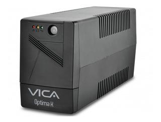 No Break Vica Optima K 1000va/600w Con Regulador Integrado 6