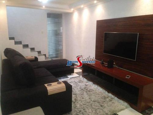 Imagem 1 de 19 de Sobrado Com 3 Dormitórios À Venda, 230 M² Por R$ 900.000,00 - Jardim Vila Formosa - São Paulo/sp - So1646
