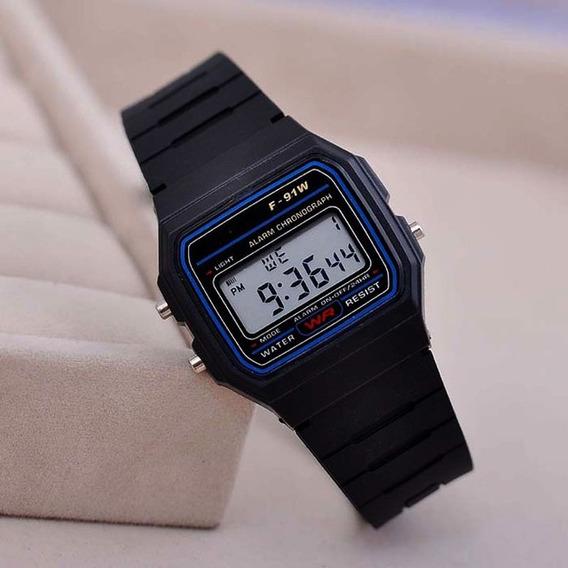 2 Relógios Replica Bolsonaro Resistent Led Dig. Bor. Preto