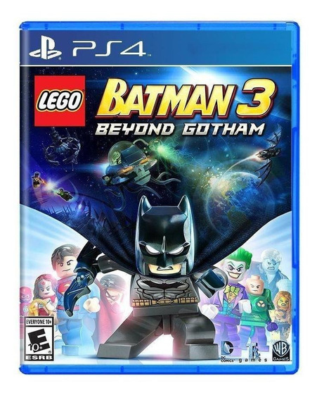 Lego Batman 3: Beyond Gotham Ps4 Midia Fisica Novo