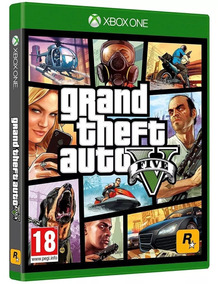 Jogo Grand Theft Auto V Five Gta 5 V Xbox One