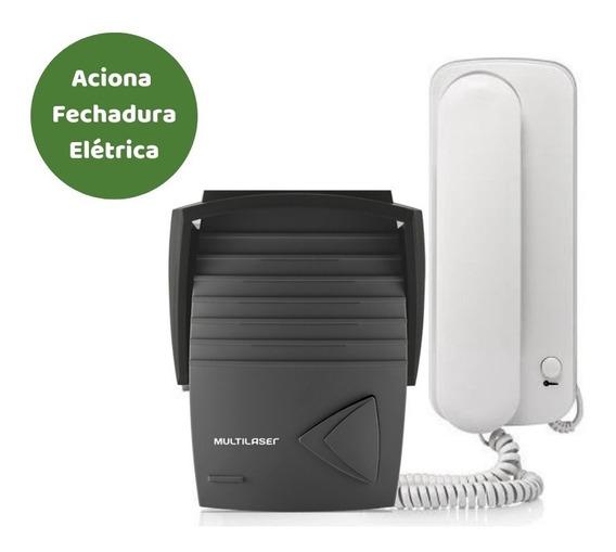 Kit Porteiro Eletrônico Com Interfone Se401 - Multilaser