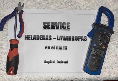 Service Heladeras Lavarropas Belgrano Nuñez Palermo Almagro