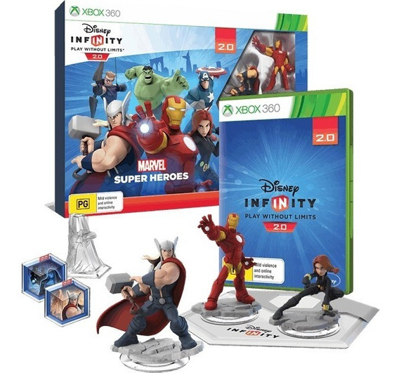 Disney Infinity 2.0 Xbox 360 Stater Pack