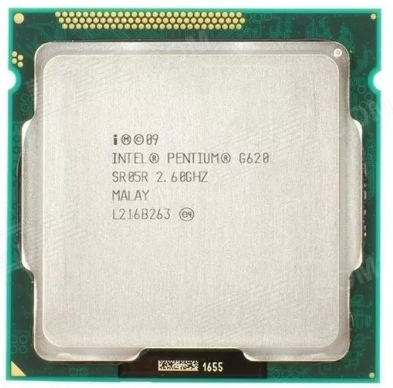 Processador Intel G620 2.6ghz - Lga1155