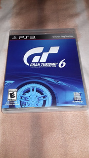 Gran Turismo 6 Para Ps3 Disco Original