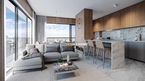 Apartamento Com 3 Dormitórios À Venda, 107 M² Por R$ 1.099.000,00 - Bigorrilho - Curitiba/pr - Ap3873