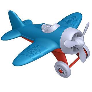 Vehículos De Juegogreen Toys Avión, Azul..