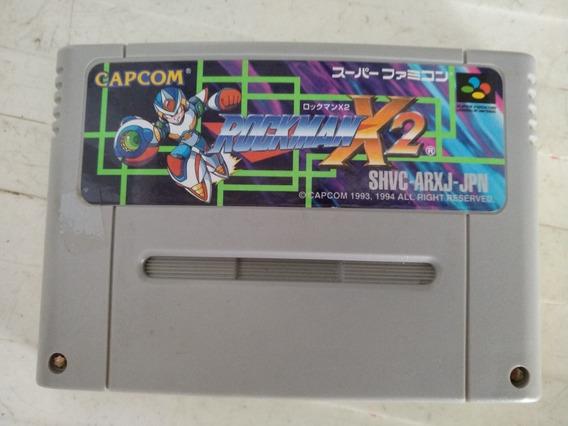 Mega Man X 2 Original Nintendo Super Famicom.