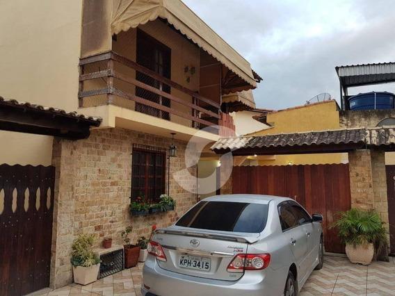 Casa Duplex De 3 Quartos, No Colubande, São Gonçalo. - Ca1517