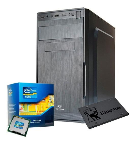 Cpu Core I3 3.1ghz 4gb 500gb Placa Inte Gamer, Photoshop Top