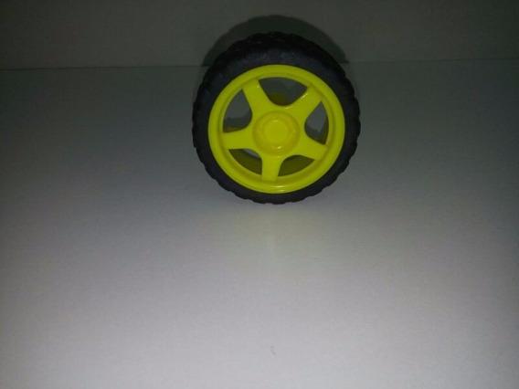 12 Un Roda 68mm Para Chassi Robo Robótica Arduino