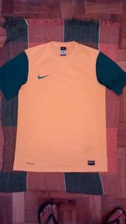 Camisa Nike Brasil Dryfit - Verde&amarelo