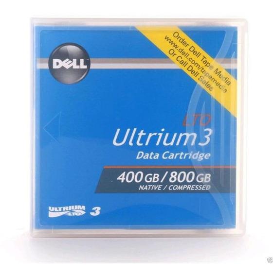 Fita Back-up Lto3 400/800gb - Dell - Novas E Lacradas