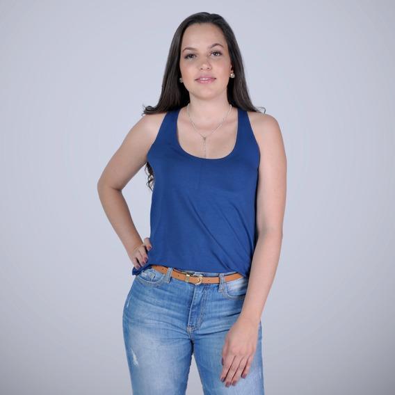 Blusa Feminina Bata Nadador Azul Marinho