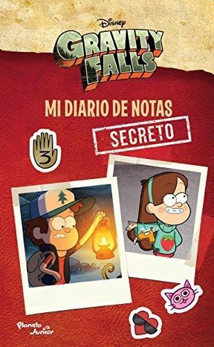 Libro Gravity Falls: Mi Diario De Notas Secreto - Nuevo