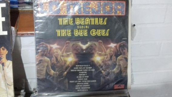 The Beatles Versus The Bee Gees Lp