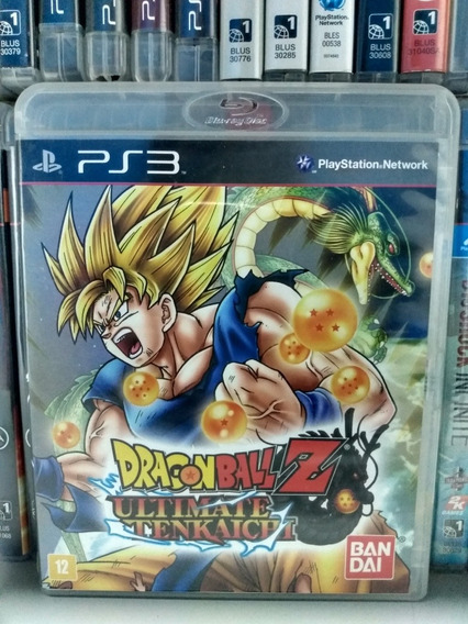 Dragon Ball Ultimate Tenkaichi Ps3   Parcelamento Sem Juros