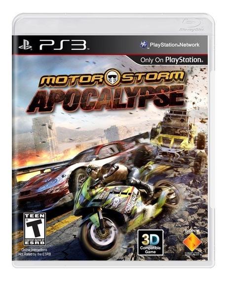 Motorstorm Apocalypse - Ps3 - Midia Fisica Lacrado