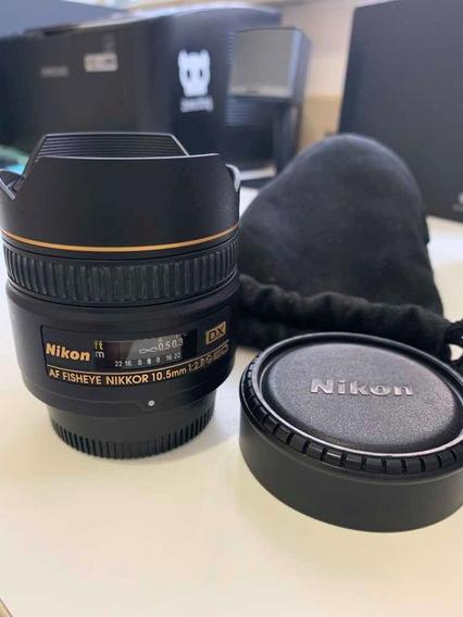Lente Nikon Af Dx Fisheye 10.5mm F/2.8