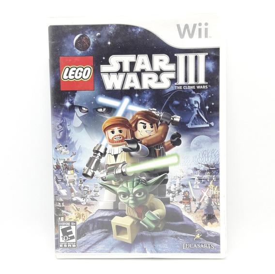 Lego Star Wars 3 Clone Wars Nintendo Wii Midia Fisica Game