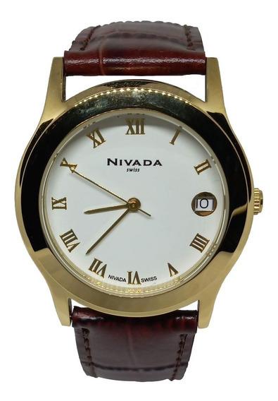 Reloj Nivada Np6967 Mdobr Soy Mercado Líder Gold Facturamos