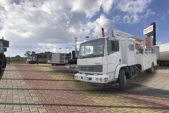 Mb 1719 4×2 2014 Cabine Aux. Cesto Aéreo Imap 13m