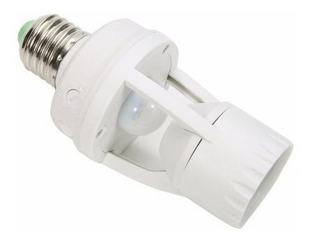 Sensor Luz Infravermelho De Movimento Adaptável Soquete E27