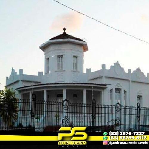 Casa Com 3 Dormitórios Para Alugar, 4,000 M² Por R$ 15.000/mês - Jaguaribe - João Pessoa/pb - Ca0551