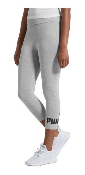 Puma Leggings 3/4 Mujer Essentials Dama Pants Capri Gym