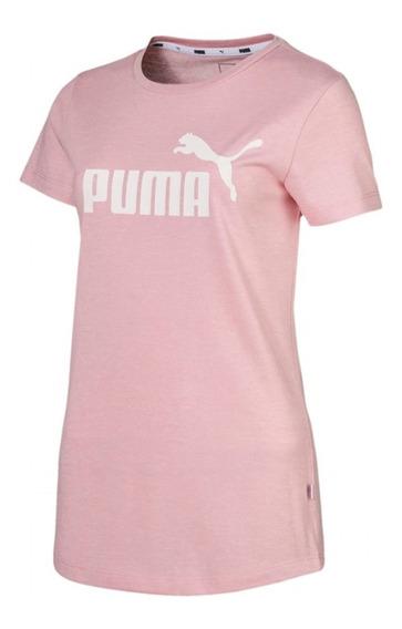 Remera Puma Urbana De Mujer Essentials+ Heather