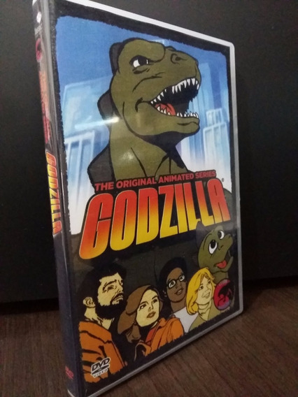 Dvd Godzila Hanna Barbera - Série Animada Completa Dublada
