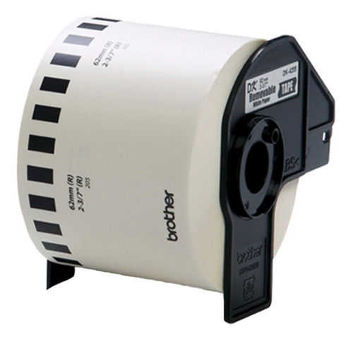 Imagen 1 de 8 de 6 Rollos Etiquetas Adhesivas Brother 62x30 Ql-700 Ql-800