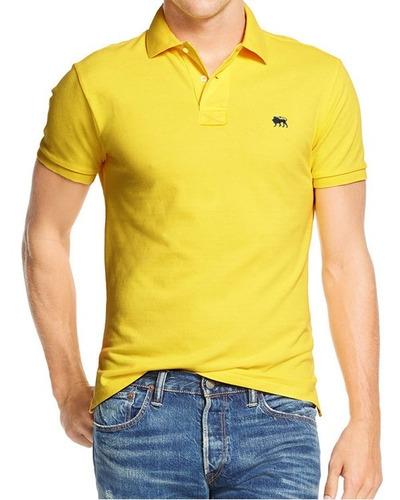 Imagem 1 de 4 de Envio Imediato Em 24 Hs.  Camisa Polo Masculino Amarelo H