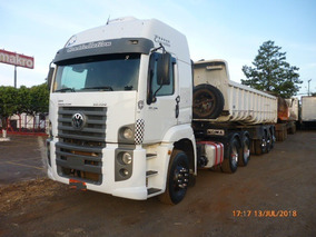V W 26390, 6x4, 2012/2013, Teto Alto, Completo