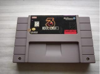 Mortal Kombat 3 Super Nintendo (snes)