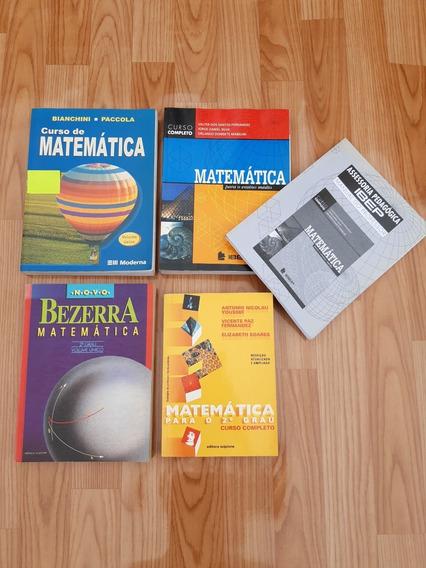 Lote Fechado Vários Livros De Matemática 2º Grau